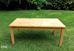 TABLE SOLID CYPRESS WOOD for any where in your Home or Office!