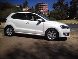 2013 polo 6 1.6 c/line white color 92000km sunroof R163000