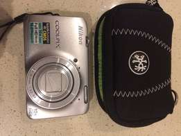NIKON Coolpix S6300 Digital Camera + accessories FOR SALE