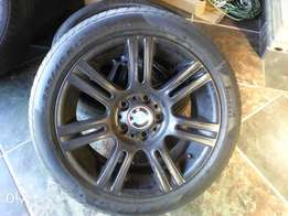 "Bmw 2007 sport pack mags 17"" narrow and wide."