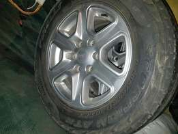 "16"" ford xlt rims and tyres"