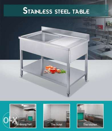 Sink Stainless Steel 1.2m
