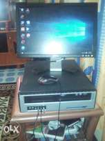 CPU 160 GB +monitor (TFT) 17 inches