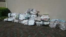 50 kg Bags of Dry Braai wood for sale