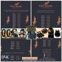 Grade 9A Brazilian and Peruvian weaves for sale in Sandton, JHb