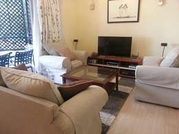 Furnished 2 bedroom riverside drive near germany embassy in westlands