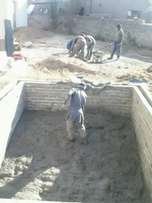 Victoria falls pools and projects