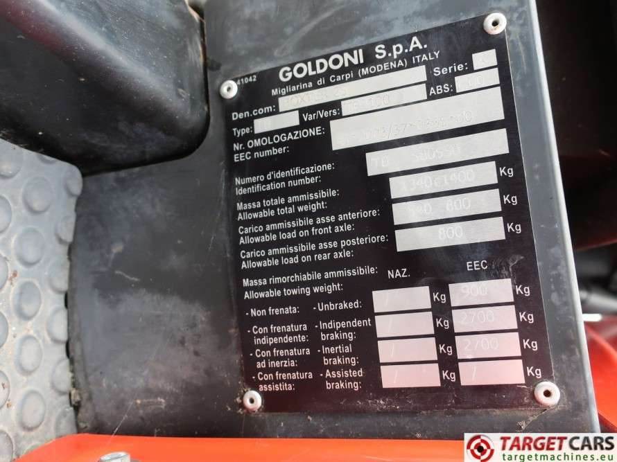 Goldoni Boxter 25 Tractor 4WD Diesel 24HP - 2010 - image 10