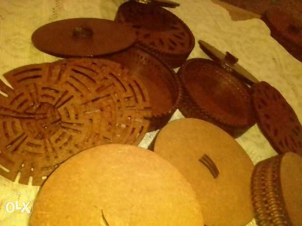 Wooden dish, plate and cup coasters. Nakuru East - image 2