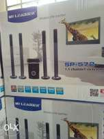My Leader Hometheatre with 4 Tall Speakers