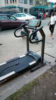 (Fairly used ) MOTION American 3.5hp treadmill , with remote control
