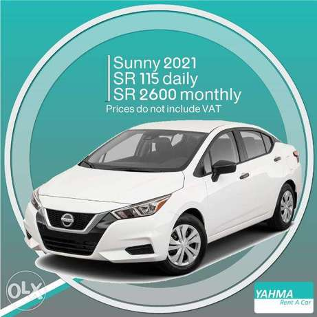 Nissan Sunny 2021 for rent