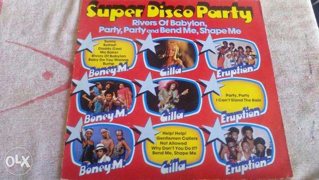 Vinyl-LP - Various – Super Disco Party