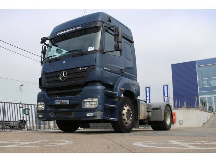Mercedes-Benz AXOR 1840 LS + MANUAL + EURO 5 - 2008