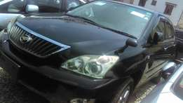 Toyota Harrier on offer .with sunroof ,alloy rims ,sunroof and camera.