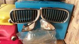 Bmw pre face lift grill and indicator complete for sale