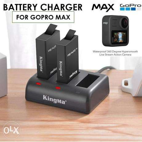 GoPro Max 3 Slot Battery Charger (New)