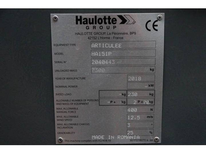 Haulotte HA15IP NEW / UNUSED, 14.87 m Working Height, Also - 2018 - image 6