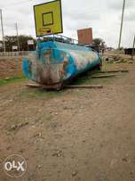 Petroleum tank.Water tank 16000 liters .used.