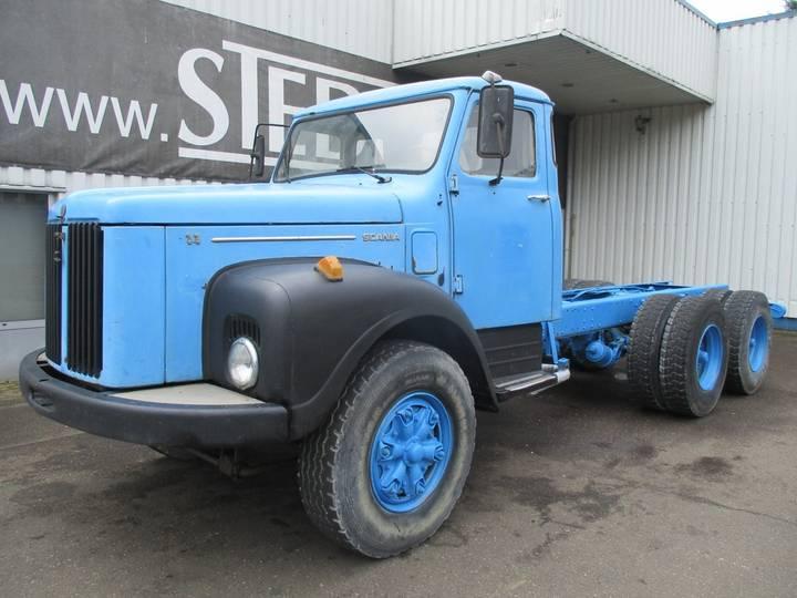 Scania 111 , 6x4 - 1986