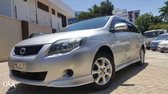 Toyota fielder aero tourer si edition loaded with sports spoiler SILVE Mombasa Island - image 1