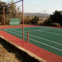 Tennis courts Resurfaces