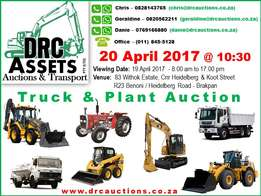 DRC Assest - Upcoming Auction