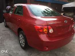 Clean Lagos Cleared American Specs 2009 Toyota Corolla LE