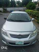 Registered 2009 Corolla LE with Leather Seats.