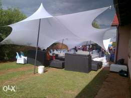 3D stretch tent summer special