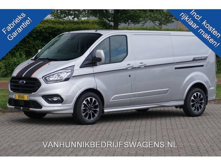 Ford Transit Custom 310L 170PK 2.0 TDCI Automaat Sport Airco, ... - 2019