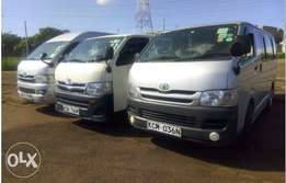 14 Seater Van for Hire