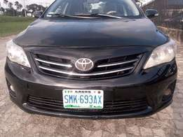 Reg and neat Toyota Corolla 2012 LE Black Bought In Nigeria Brand New