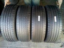 4X 225/65/17 Micheline tyres for sell