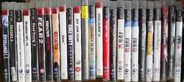 Playstasion 3 games VARIETY TO CHOOSE FROM