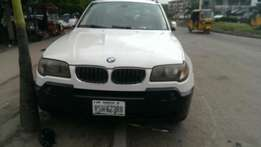 7 months used 2006 bmw x3.