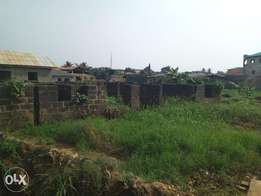 60 by 90 plot of land at Ewedogbon isheri lasu road close to bus stop.