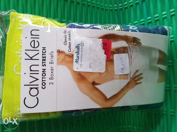 Calvin klein cotton stretch.3 in a pack trunk. Ibadan South West - image 1