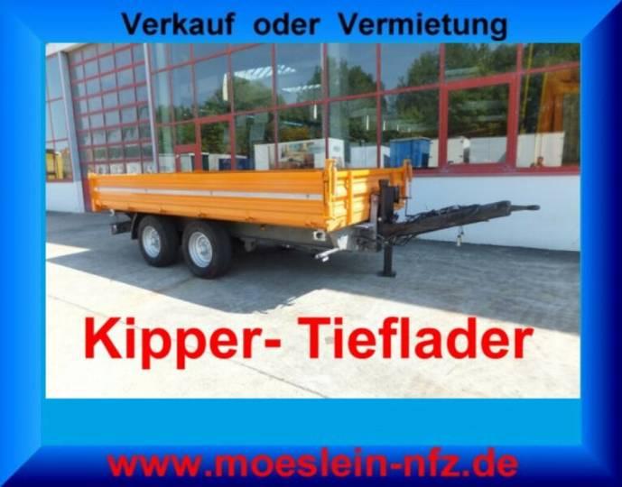 Möslein TTD 14 14 t Tandemkipper- Tieflader - 2010