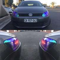 Headlight Tinting From R400 at West Coast Wraps SA !!