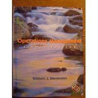 Operations Management, 8th Edition