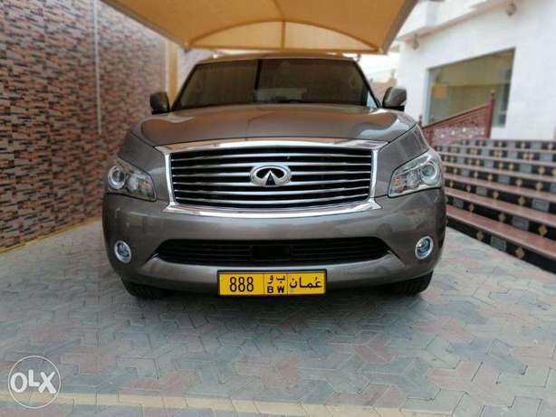 Infiniti QX56 very clean is no1 this 2013 model