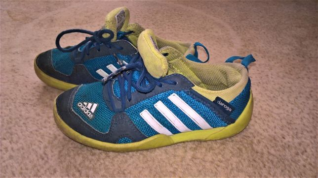 Adidas daroga adidasy chłopięce obuwie sportowe niebieskie