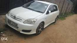 Toyota Allex for sale.
