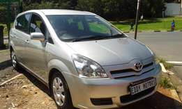2006 model Toyota Corolla Verso 1.6 RS for sale