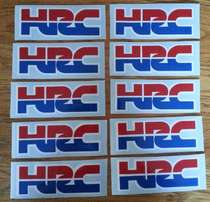 HRC Honda stickers decals
