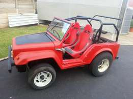 Jeep / beach buggy short wheel base 1600 twin port. With Soft top.