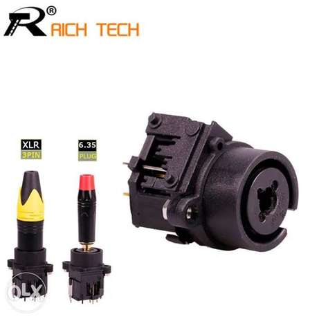 combo jack xlr connector