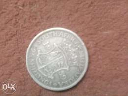 2 and half shilling 1939 south africa