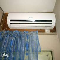 Fairly used air condition, 1hp